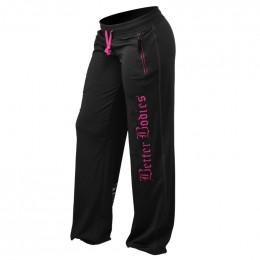 WOMENS FLEX PANT - Noir/Pink