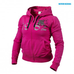 FITTED SOFT HOODIE - Pink