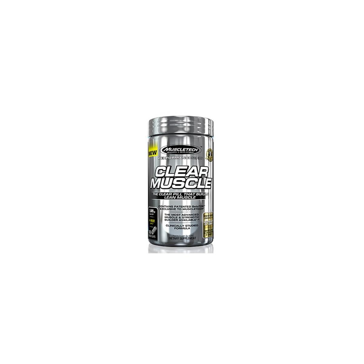 CLEAR MUSCLE (168 Liq Caps)