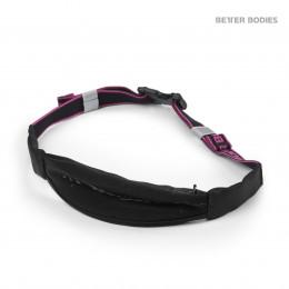 ZIP BELT - black/pink