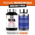 Programme Preparation Soleil - Bronzage X-Press