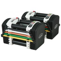 PowerBlock U70 Stage 1 Adjustable Dumbbells - 1-18kgs