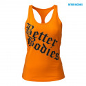 PRINTED T-BACK - Orange