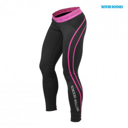ATHLETE TIGHTS - Noir/Pink