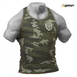 UTILITY RIB T-BACK - Kaki Camouflage