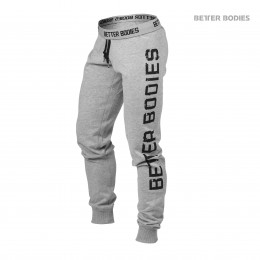SLIM SWEATPANT - GREY MELANGE