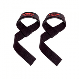 Padded Cotton Lifting Straps  (La Paire)