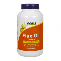 ORGANIC FLAX OIL 1000mg (100caps)