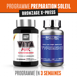 Programme Preparation Soleil - Bronzage X-Press