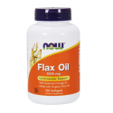 ORGANIC FLAX OIL 1000mg 100caps
