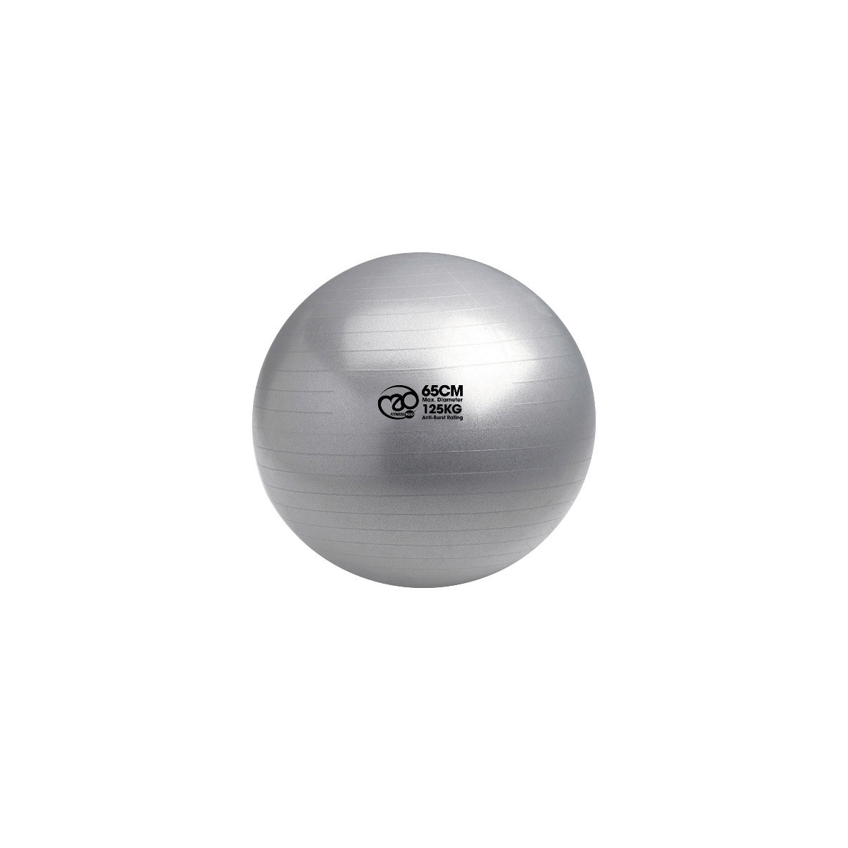 SWISS BALL AND PUMP 125KG 65CM