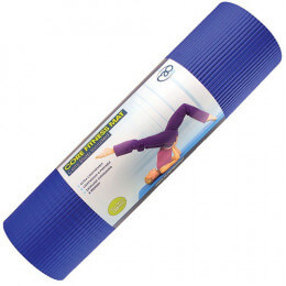CORE FITNESS MAT BLUE 10MM