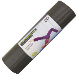 CORE FITNESS MAT BLACK 10MM