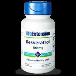 LIFE RESVERATROL 100MG (60 CAPS)