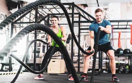 Travail musculaire à la corde