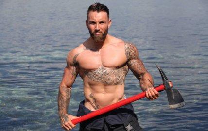 Rémi: un pompier, déterminé comme un viking!