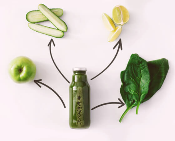 smoothie detox riche en antioxydant