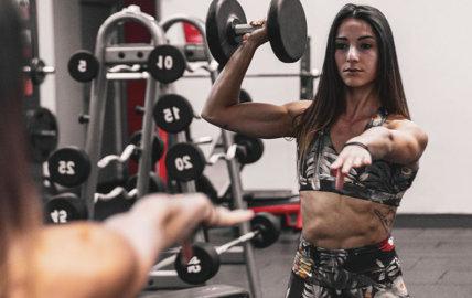 Interview de Lauréna, coach fitness