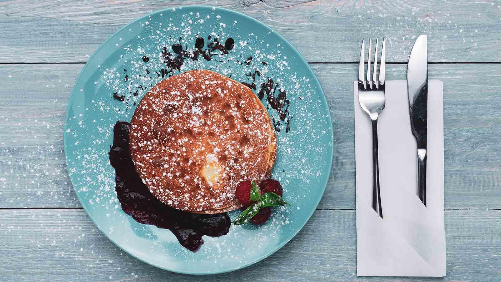 Recette de pancakes d'abasthetic