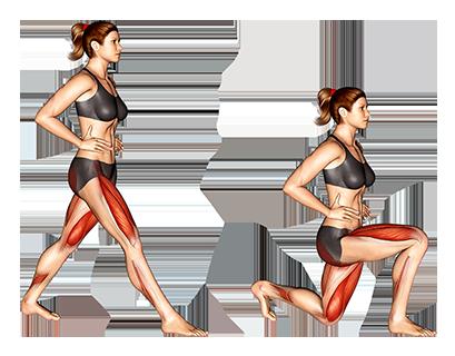 Picto ćwiczenia kobieta rzuca się wcześniej
