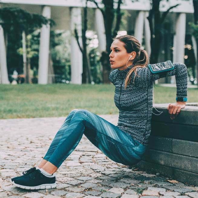 Damskie legginsy fitness