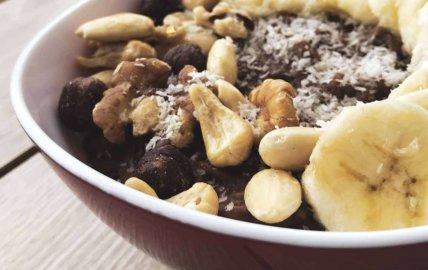 Bowlcake whey banane