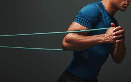 Programme entrainement musculation avec élastique