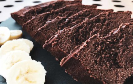 Cake fondant chocolat banane