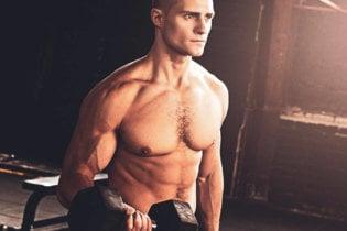 Le biceps curl haltères