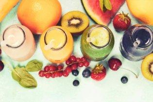 Les fruits et jus de fruits