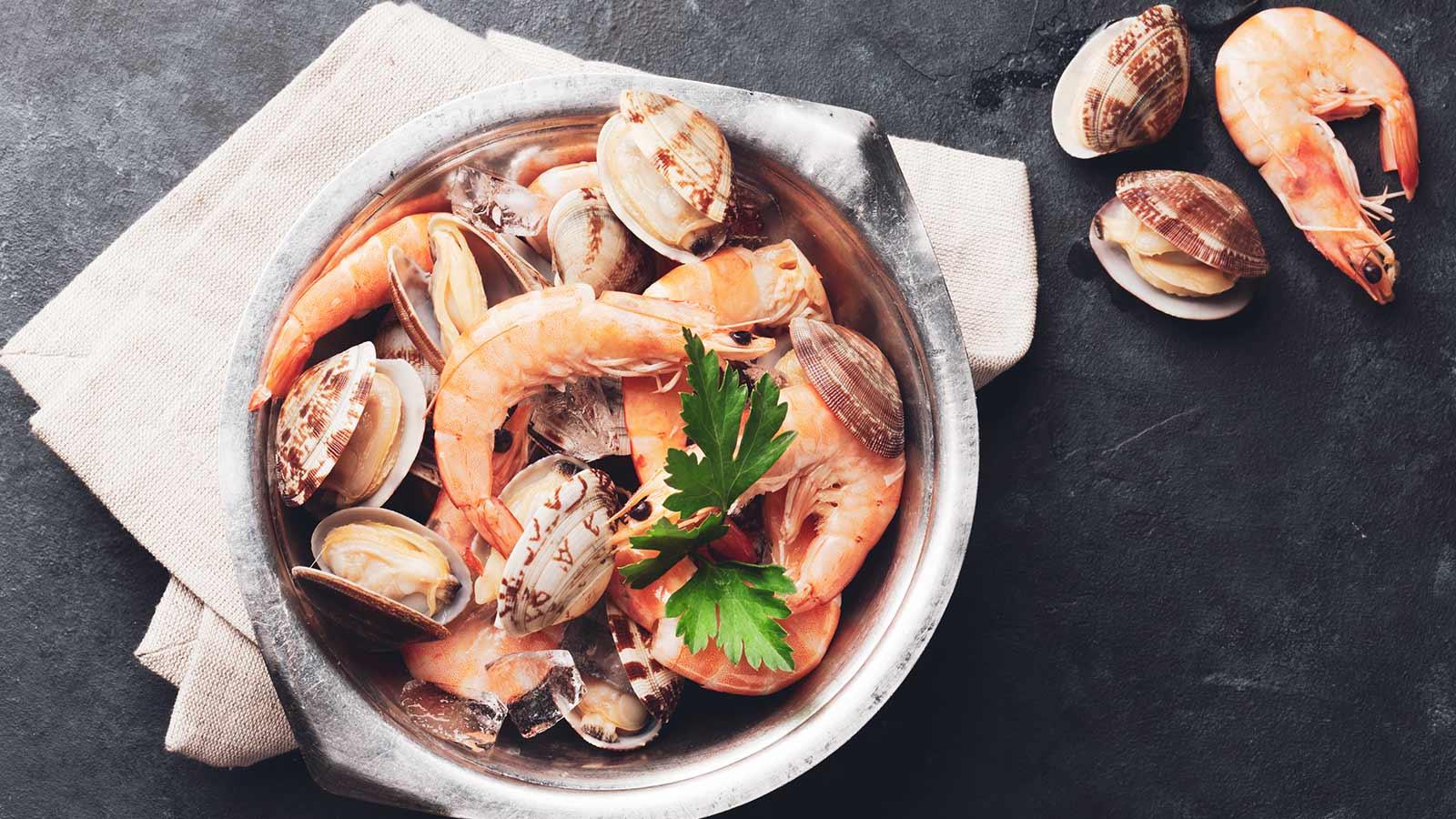 Table alimentaire et valeur calorique des fruits de mer