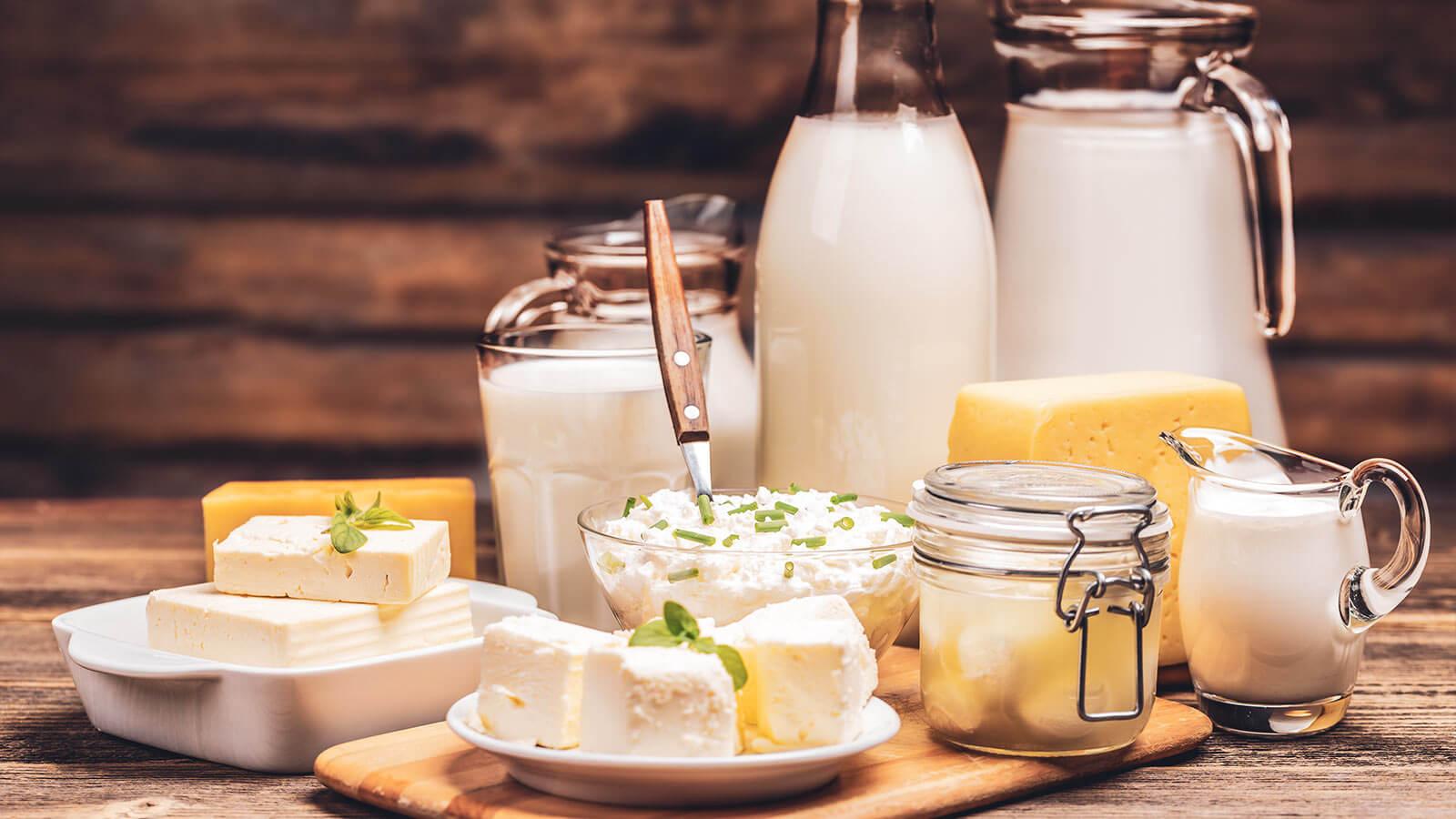 table alimentaire et valeur nutritionnelle des produits laitiers