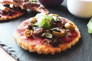 Mini pizzas avoine & blé complet