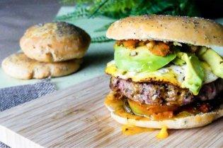 Burger maison et healthy