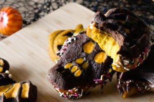 Minis cakes monstres d'Halloween