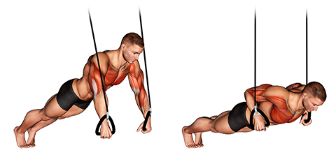 Suspended push up