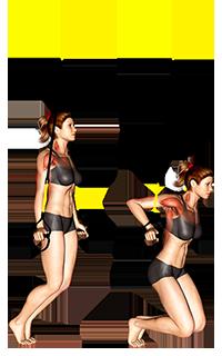 Suspender Self assisted Triceps Dip