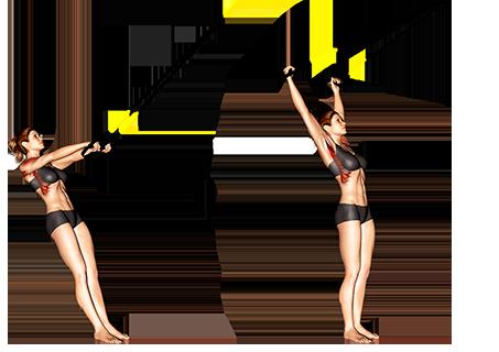 Suspender Y Lateral Raise Shoulders