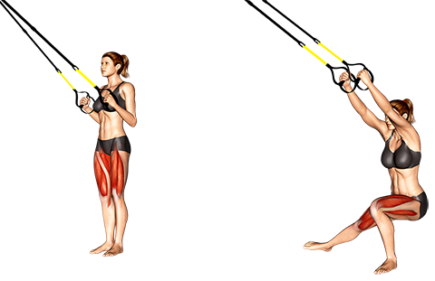 Suspender Side Lunge