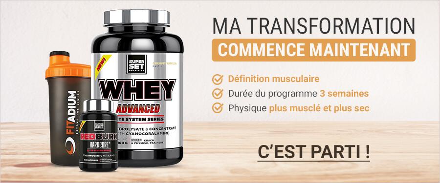 programme spécial muscle sec